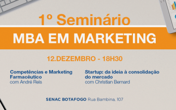 1º Seminário MBA em Marketing 2